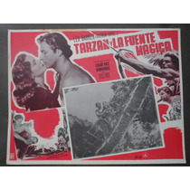 Lex Barker Tarzan Y La Fuente Magica Original Cartel De Cine
