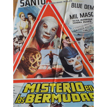 1979 El Santo Misterio En Las Bermudas Mil Mascaras Luchador