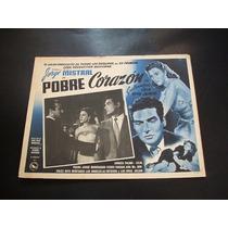 Pobre Corazon Andrea Palma Lobby Card Cartel Poster