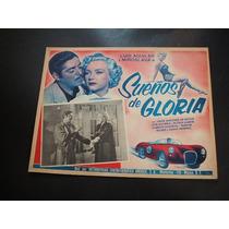 Sueños De Gloria Miroslava Lobby Card Cartel Poster