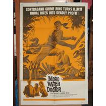 Jock Mahoney, Moro Witch Doctor, Poster Original En Ingles