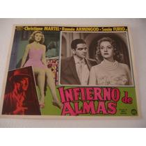 Christiane Martell, Infierno De Almas Cartel ( Lobby Card )
