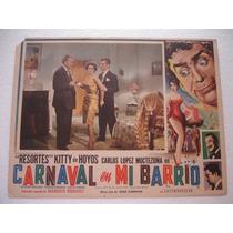 Kitty De Hoyos, Carnaval En Mi Barrio , Cartel (lobby Card )