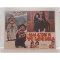 Capulina, Un Cura De Locura , Cartel (lobby Card)