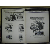 Guns For San Sebastian, Anthony Quinn Folleto Publicitario