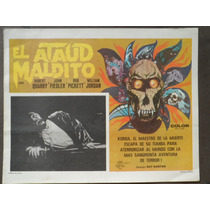 El Ataud Maldito The Deathmaster Terror Monstruo Horror Orig