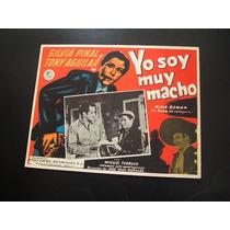 Yo Soy Muy Macho Silvia Pinal Lobby Card Carton Poster