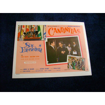 Su Excelencia Cantinflas Lobby Card Cartel Poster F
