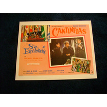 Su Excelencia Cantinflas Lobby Card Cartel Poster B