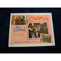 Su Excelencia Cantinflas Lobby Card Cartel Poster C
