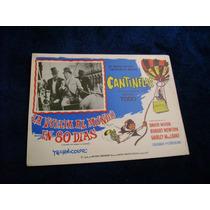La Vuelta Al Mundo En 80 Dias Cantinflas Lobby Card Cartel C