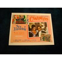Su Excelencia Cantinflas Lobby Card Cartel Poster E