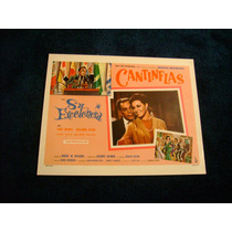 Su Excelencia Cantinflas Lobby Card Cartel Poster D