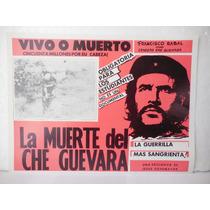 Francisco Rabal, La Muerte Del Che Guevara, Cartel De Cine