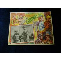 Las Coronelas Piporro Lobby Card Cartel Poster