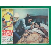 Jorge Rivero Frontera Brava Patricia Rivera Cartel De Cine