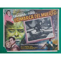 Fernando Casanova La Marca Del Muerto Terror Cartel De Cine