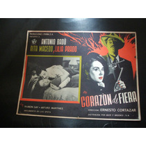 Corazon De Fiera Rita Macedo Antonio Badu Lobby Card Cartel