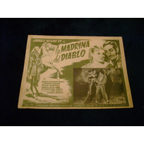 La Madrina Del Diablo Jorge Negrete Lobby Card Cartel Poster