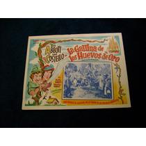 La Gallina De Los Huevos De Oro Abbott Lobby Card Cartel