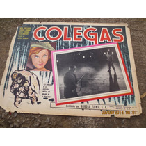 Antiguo Lobby Card Colegas Cartel De Cine Mexicano!