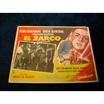 El Zarco Pedro Armendariz Lobby Card Cartel