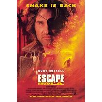 Poster (28 X 43 Cm) Escape From La