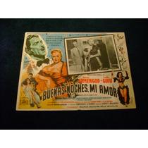 Buenas Noches Mi Amor Ramon Armengod Lobby Card Cartel