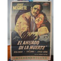 Poster Original El Ahijado De La Muerte Jorge Negrete Conde