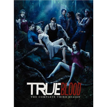 True Blood Tercer Temporada 5 Discos Dvd