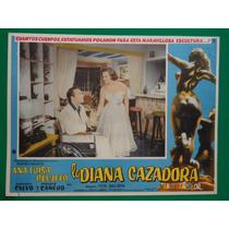 Ana Luisa Peluffo La Diana Cazadora Roberto Cañedo Cartel