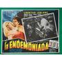 La Endemoniada Terror Vampiro Enrique Rocha Cartel De Cine