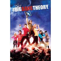 The Big Bang Theory Cartel - Temporada 5 Dvd Maxi 61cmx