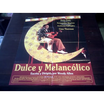 Poster Original Dulce Y Melancólico Sean Penn Woody Allen