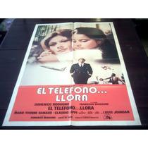 Poster Original Piange Il Telefono Llora El Teléfono Modugno
