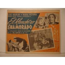 Madaleno, El Ranchero Enamorado , Cartel De Cine