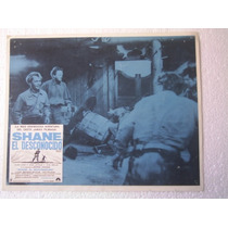 Cartel Shane El Desconocido Alan Ladd Van Haflin Jean Arthur