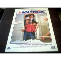 Poster Original Tres Hombres Y Un Biberón R Giraud C Serreau