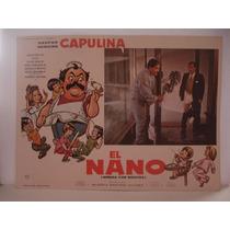 Capulina , El Nano ( Niñera Con Bigotes ), Cartel De Cine