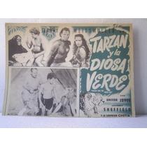 Cartel Tarzan And The Leopard Women Y Las Mujeres Leopardo
