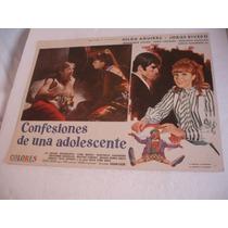 Jorge Rivero, Confesiones De Una Adolescente , Cartel Cine