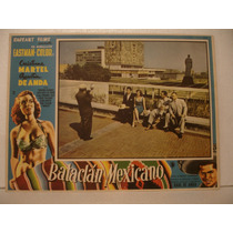 Christiane Martell, Bataclán Mexicano , Cartel De Cine