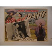 Pedro Armendariz , Allá En El Bajio , Cartel De Cine