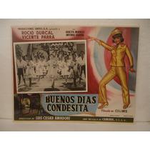 Rocío Durcal , Buenos Días Condesita , Cartel De Cine
