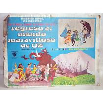 Kcg Lobby Card Regreso Al Mundo Maravilloso De Oz 1974