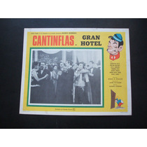 Cantinflas Gran Hotel Cartel Lobby Card Poster