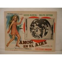 Rocío Durcal , Amor En El Aire , Cartel De Cine