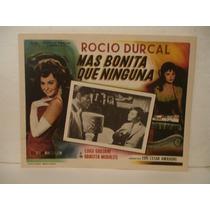 Rocío Durcal , Más Bonita Que Ninguna , Cartel De Cine