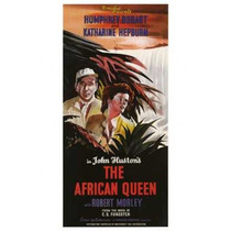 Poster (28 X 43 Cm) The African Queen
