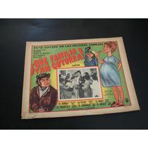 Que Familia Tan Cotorra Borras Lobby Card Poster Cartel